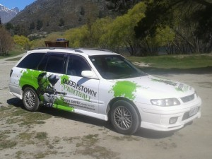 queenstown paintball transport